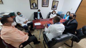 Directivos Hospitales Gautier y Jacinto Mañón tratan soluciones mejoras servicios