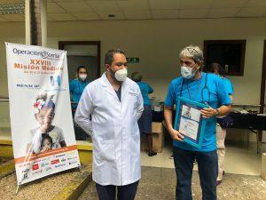 Terminó con éxito jornada cirugías gratuitas a niños con labio y/o paladar hendido