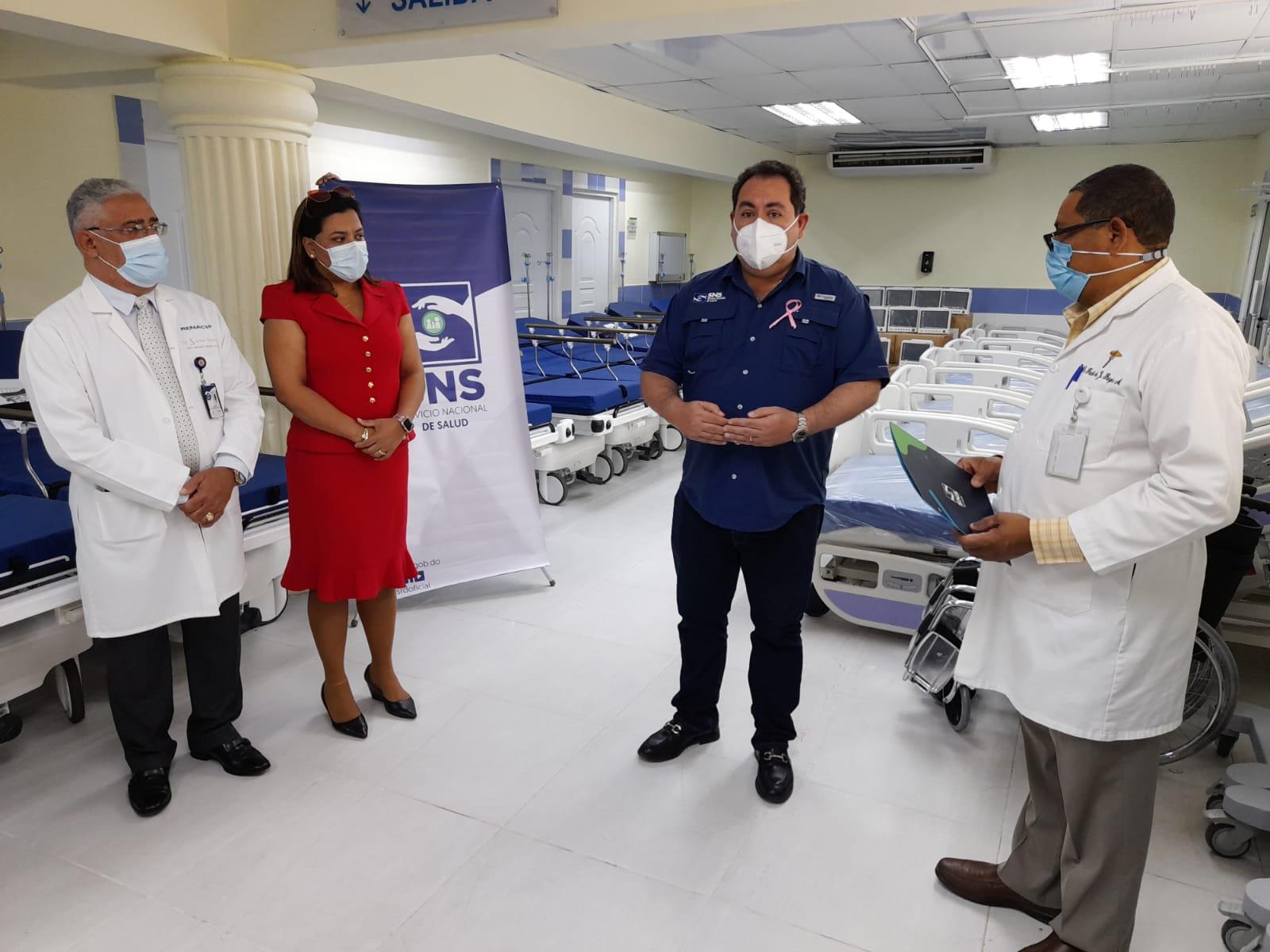 El SNS dota de equipos al Hospital Gautier por más de RD$18 millones